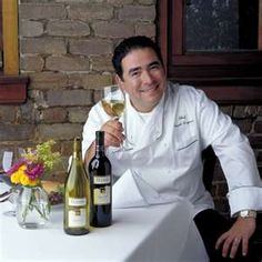 Emeril!  Saw him at one of my fav restaurants--The Grill on the Alley in Beverly Hills