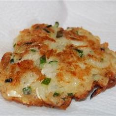Zucchini and Feta Cheese Fritters (Kolokithokeftedes) Allrecipes.com