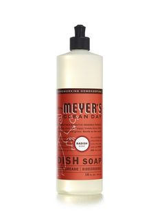 Radish Dish Soap - Mrs. Meyer's