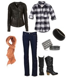 Not sure about the plaid shirt but the rest is totally doable!