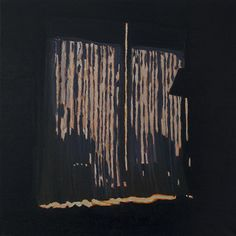 Colin Waeghe: New Year's Eve 15/16, 40x40cm, oil on canvas