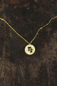 Virgo Charm Necklace