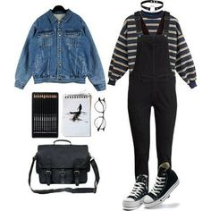 hipster outfits for school Grunge Winter Outfits, Hipster Outfits, Edgy Outfits, Mode Outfits, Fashion Outfits, Grunge Fashion Winter, Classy Outfits, Summer Outfits, 90s Fashion Grunge