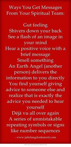 Ways You Get Messages From Your Spiritual Team: Gut...