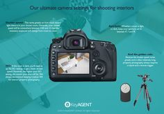 CAMERA SETTINGS FOR INTERIOR REAL ESTATE PHOTOGRAPHY #photography #phototips http://www.picturecorrect.com/tips/camera-settings-for-interior-real-estate-photography/
