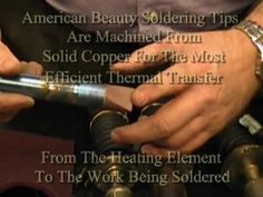Cleaning And Re-Tinning Your Soldering Iron Tips.  https://americanbeautytools.com/blog/?p=128