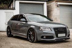 "Audi S3 with 19"" Bola ZZR http://bolawheels.co.uk/"