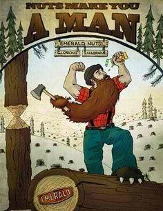 I will one day be that lumberjack Lumberjack Style, Lumberjack Party, Art Of Manliness, Awesome Beards, Bear Art, Bizarre Art, Beard No Mustache, Mans World, Art Pictures