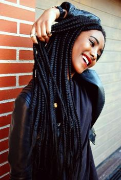 Box braids hairstyles are one of the most popular African American protective styling choices. Summer lifts the percentage significantly with activities Click image for more. Box Braids Hairstyles For Black Women, Braids For Black Women, Braids For Black Hair, African Hairstyles, Afro Hairstyles, Black Hairstyle, Hairstyle Ideas, Curly Hair Styles, Natural Hair Styles
