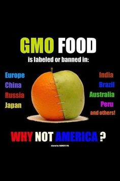 GMO Food. It's in SO many things in the US. Anything with corn in it almost assuredly is made from GMO corn. Read labels and avoid it!!