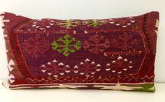 Kilim cuscino di lana Kilim rustico lanciare di artdecopillow