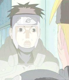 Team 7, Yamato, scary face, Naruto, Sakura, Sai, funny, gif; Naruto