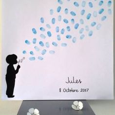 See related links to what you are looking for. Nanny Activities, Infant Activities, Deco Theme Marin, Theme Bapteme, Thumbprint Guest Books, Fingerprint Art, Christmas Garden, Couture Sewing, Diy Garden Decor
