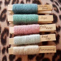 sweet yarn colors