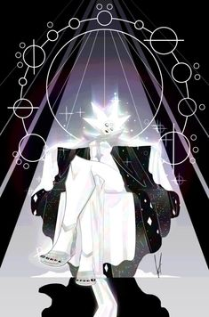 White Diamond by Psi-Stardust on DeviantArt White Diamond Steven Universe, Steven Univese, Steven Universe Comic, Universe Art, Cartoon Shows, Cartoon Network, Adventure Time, Cool Art, Diamond Authority