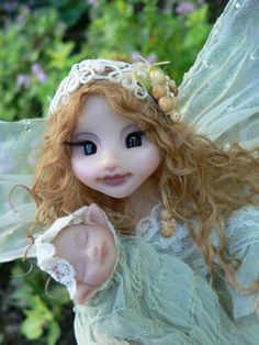 Mother and baby fairy - I REALLY want this...