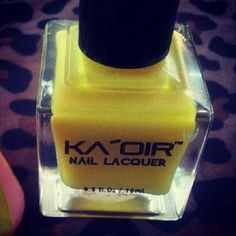 #KAOIRDOLLS ….. Does anyone know what @KeyshiaKaoir named THIS Shade of #KAOIR #NailLacquer?? Go to www.KAOIR.com to find out.