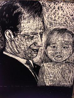 Isä ja minä #raapekartonki