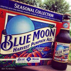 Blue Moon: Harvest Pumpkin. Best.