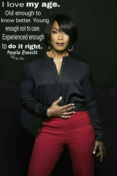 embracing your age- Angela Bassett My Black Is Beautiful, Black Love, Dead Gorgeous, Black Girls Rock, Black Girl Magic, Meet The Robinsons, Great Quotes, Inspirational Quotes, Motivational