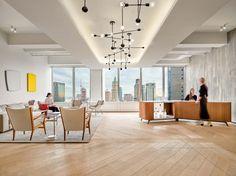 Corporate Office Winner: Frankfurt Kurnit Klein + Selz by Gensler Studios Architecture, Architecture Office, Architecture Design, Davis Furniture, Soho Loft, Folding Furniture, New York Photography, Design Within Reach, Built Environment