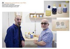 L' atelier des garçons : Jean-Marc Fondimare & Eric Hibelot