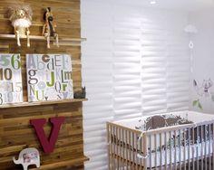 Love the modern feel of this nursery. #modern #nursery