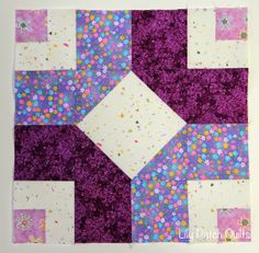 Lily Patch Quilts: Aurifil BOM May and June