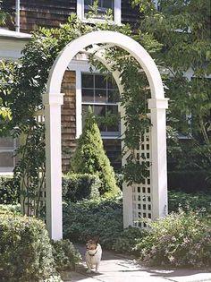 Entry Arbor Ideas