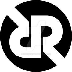 logo using initials of my name - RR.