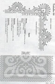 tappeto crochet moduli quadrati