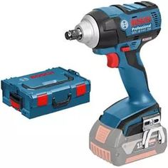 *CLICK TO ENLARGE* Bosch GDS 18 V-EC 250 18v Compact Brushless High-Torque Impact Wrench in L-Boxx (Tool Body Only)