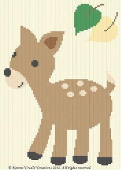 Crochet Deer Afghan Crochet Afghans Pinterest