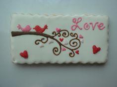 Be My Valentine cookies Fancy Cookies, Iced Cookies, Cute Cookies, Cupcake Cookies, Sugar Cookies, Cookie Cakes, Valentines Day Cakes, Valentine Cookies, Easter Cookies