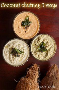 Indian Chutney Recipes, Indian Food Recipes, Ethnic Recipes, Coconut Recipes Indian, Veg Recipes, Vegetarian Recipes, Cooking Recipes, Goan Recipes, Rava Upma Recipe