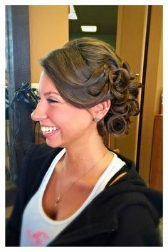 Formal Hair Updo- Hair by Linda Bang