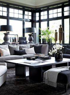 studio karin | masculine living room