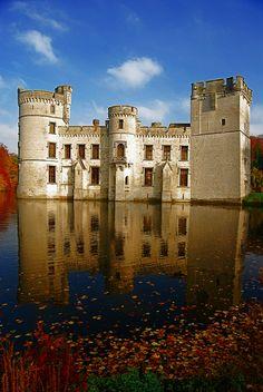 Castillo de Bouchout. La emperatriz Carlota murió en él,