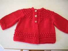 Ravelry: Quick Baby Sweater pattern by Lorraine J Major Crochet Baby Sweater Pattern, Baby Cardigan Knitting Pattern Free, Baby Sweater Patterns, Knitted Baby Cardigan, Knit Baby Sweaters, Baby Pullover, Knitted Baby Clothes, Baby Knitting Patterns, Baby Patterns