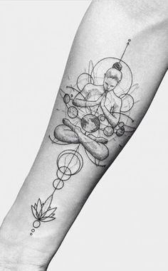 24 Creative Arm Tattoo Designs For Men That All Women Love. A simple linework or… 24 Creative Arm Tattoo Designs For Men That All Women Love. A simple linework or geometric design is more than enough to create something unique! Yoga Tattoos, Tribal Arm Tattoos, Forearm Tattoos, Body Art Tattoos, Sleeve Tattoos, Men Arm Tattoos, Arm Tattoos For Women Forearm, Geometric Tattoos Men, Octopus Tattoos