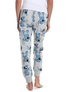 Disney Lilo & Stitch Allover Print Womens JoggersDisney Lilo & Stitch Allover Print Womens Joggers,