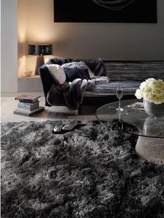 Shaggy rug Bright Charcoal                                                                                                                                                      More
