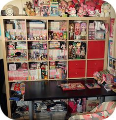 manga When I get the things I want for my room. This is my Manga and Anime Section haha