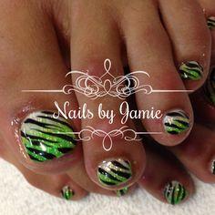 Zebra Nails  Follow Nails by Jamie on Instagram! NailPro97401