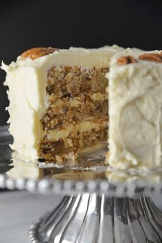 Hummingbird Cake Recipe - There is a beautiful heritage with this Southern cake! It is deliciously memorable and is such a family tradition! //©addapinch.com