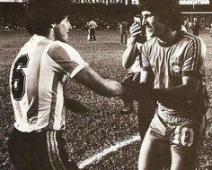 Maradona & Zico