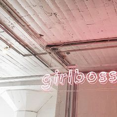 Be a girl boss - wor