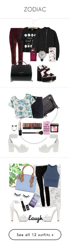 """ZODIAC"" by onedeadlypanda ❤ liked on Polyvore featuring moda, Victoria Beckham, rag & bone, Olivia Pratt, Dolce&Gabbana, Givenchy, women's clothing, women, female e woman"