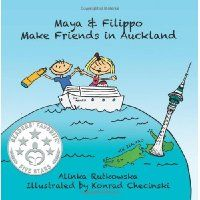 Reviewed by Katelyn Hensel for Readers' Favorite   Maya and Filippo make friends in Auckland is part of a really cool series of books about a brother and sister, and their adventures all around the world! In this adventure, author Alinka Rutkowska takes the kids to the fun and adventurous side of New Zealand. It explores a lot of different concepts that I found highly intelligent and wonderful in a children's book. Issues like being different in another country, making friends, etc. are all…