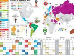Uczestnicy mistrzostw świata 2018 na mapie świata [INFOGRAFIKA]